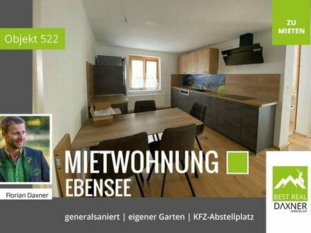 Gediegene Mietwohnung in Ebensee am Traunsee! PROVISIONSFREI!!