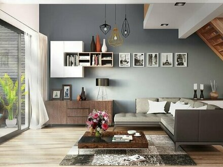 Elegantes 4-Zimmer-Penthouse mit Terrasse, Nähe Stadtpark