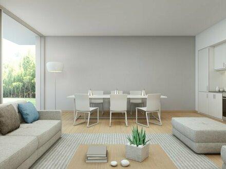 Helle 3-Zimmer Gartenwohnung mit Terrasse, Nähe Donauinsel