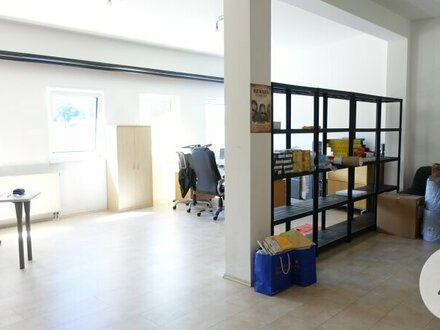 Betriebsobjekt mit Lager, Büro und Wohnung