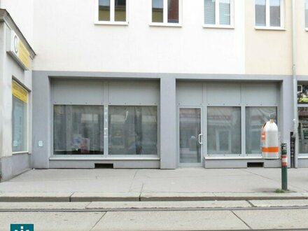 Geschäftslokal im Haltestellenbereich und an stark frequentierter Straße