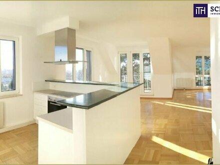 WOW! TRAUMHAFTER AUSBLICK über Wien! Stilvolles Appartement in exklusiver Lage!!