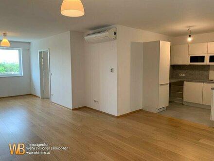Traumhaft helle 2 Zimmer im Dachgeschoss mit Loggia direkt beim Augarten!