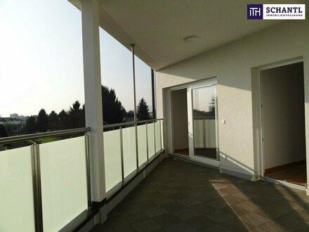 SONNIGE 2-ZIMMER WOHNUNG IN 8041 GRAZ! Neubau + Riesige Terrasse + Ab Mai verfügbar + PROVISIONSFREI!