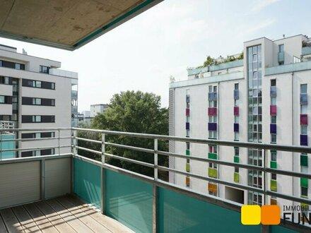 Moderne 2-Zimmer-Wohnung mit westseitigem Balkon und Garagenstellplatz