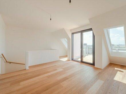 ++NEU++ Tolle 4-Zimmer DG-Maisonette mit 11m² Terrassen! **ERSTBEZUG**