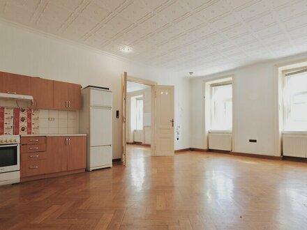 ++NEU++ Sanierungsbedürftige 4-Zimmer Altbau-Wohnung, gutes Preis-Leistungsverhältnis!