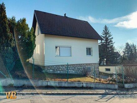 Sehr nettes Einfamilienhaus mit traumhaften Blick in den Wienerwald und Umgebung