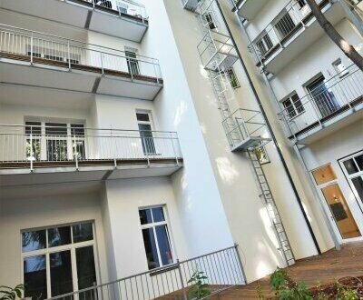 Traumhafte Fassade + Hochwertig sanierte Altbauwohnung + Ideale Infrastruktur und Anbindung! Hofseitiger Balkon in den ruhigen…