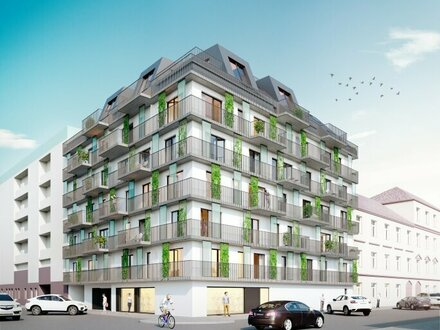 TREND HOMES NEUBAU-PROJEKT! Südwestseitiger 3-Zimmer-Erstbezug mit Balkon
