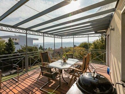 Wohntraum am Ölberg - einzigartige Familienvilla mit herrlichem Ausblick und romantischem Garten - 3400 Klosterneuburg