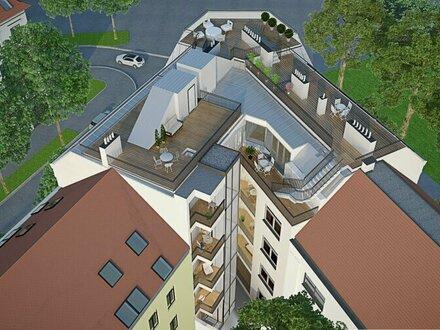 Riesige Dachterrasse mit unverbaubarem Blick