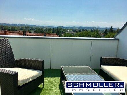 Terrassen-Wohnung mit Weitblick