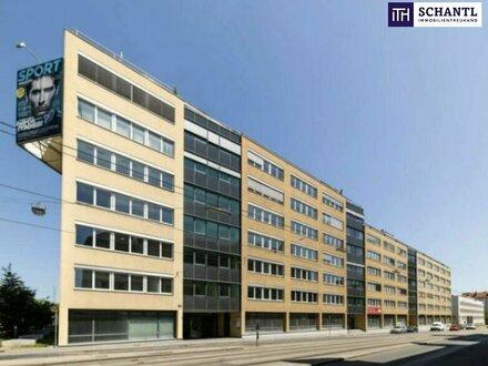 OFFICE IN FREQUENTIERTER LAGE! Moderne Ausstattung + Hervorragende Infrastruktur + Tiefgarage + Kantine!