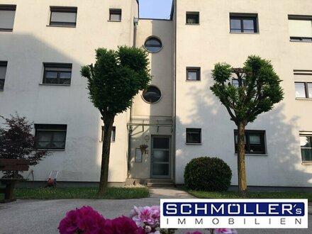 4-Zimmer-Wohnung, sehr gepflegt und zentral mit Traunsteinblick
