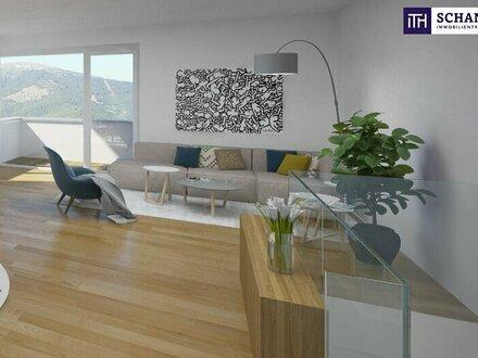 ITH: IM EINKLANG MIT DER NATUR: Nachhaltig errichtete Neubauwohnung im Grünen mit 80 m² Eigengarten!