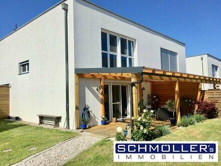 Miet-Kauf! Geförderte Doppelhaushälfte in Steinhaus bei Wels mit Traunsteinblick!