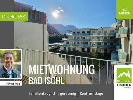 Großzügige Dachgeschoß-Mietwohnung in Zentrumslage von Bad Ischl