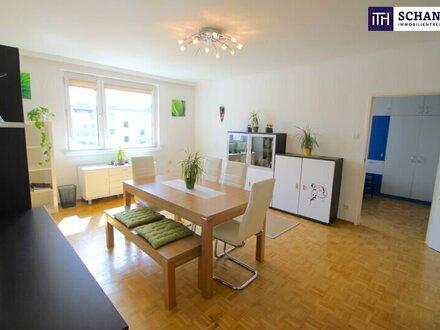 PHÄNOMENAL! PROVISIONSFREI! DG-Wohnung nahe Schmelz! Tolle Aufteilung mit cooler Sonnenterrasse!