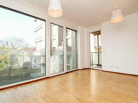 PARKBLICK! Neubauwohnung mit Balkon in Nobellage!
