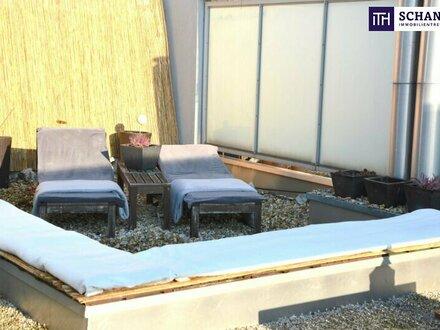 LUXUS PUR!!! Voll möblierte Terrassen-Wohnung in absoluter Ruhelage und grandiosen Freiflächen!!!