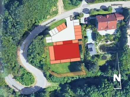 Wohnwert in Altenberg - Nähe Universität - Rohbau schreitet voran !!