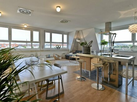 ++NEU** 3-Zimmer LOFTWOHNUNG mit 60m² Wohnküche, Unverbaubarer süd-west WEITBLICK !!