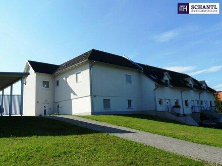 ITH: LICHTDURCHFLUTETE 3-Zimmer Wohnung! SONNENTERRASSE + HERRLICHER AUSBLICK + LICHTDURCHFLUTET + CARPORT!