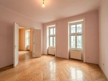 ++NEU++ Großzügig angelegte, sanierungsbedürftige 3-Zimmer ALTBAUwohnung mit getrennter Küche!