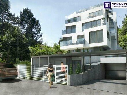 Wohntraum mit 2 Zimmern: ideale Raumaufteilung + Grünruheoase + Südbalkon + lichtdurchlutet!