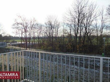 Freier Blick ins Grüne - kein Gegenüber! Neue moderne Wohnung erwartet Ihren Besuch!