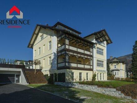 Noble Terrassenwohnung mit schönem Garten in anmutiger, eleganter Villa (Top 6)