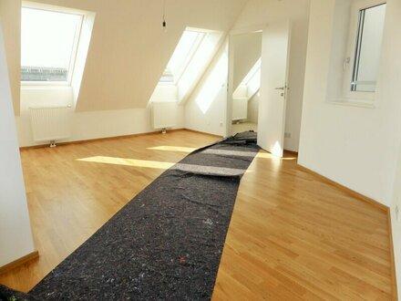 Erstbezug: 95m² DG-Maisonette + 10m² Terrasse mit Einbauküche - 1090 Wien