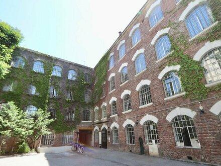 Saniertes Loft-Büro in ehemaliger Seidenfabrik nächst Gumpendorfer Straße!