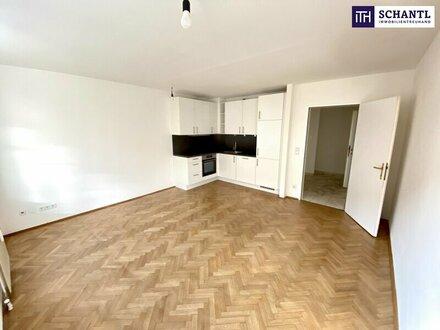 Absolute Ruhelage! Zwei-Zimmer-Wohnung mit Hofruhelage und neuer Küche!