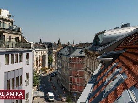 Vom städtischen Treiben auf die ruhige Innenhofterrasse zurückziehen …schlüsselfertig + PROVISIONSFREI!