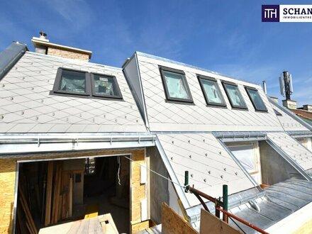 Zwei Zimmer mit Aussicht! Erstbezug im Dachgeschoß mit zwei Freiflächen und optionaler Dachterrasse!!!