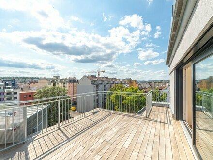 ++NEU** Hochwertige 3,5-Zimmer DG-Maisonette, tolle Aufteilung! Dachterrasse mit Weitblick ***Videobesichtigung***
