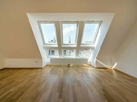 ++NEU** Fantastischer 4-Zimmer DG-Erstbezug mit 30m² Terrasse, BESTLAGE in 1080!