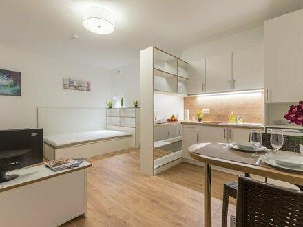NEUBAU - Hochwertige möblierte Wohnungen zum Pauschalpreis inkl. WLAN, Strom, Heizung, Kalt- und Warmwasser ***BARRIEREFREI***