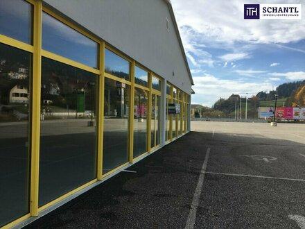 ITH: ANLEGER-HIT: Attraktives Fachmarktzentrum + Frequenzlage + Sichtbarkeit mit viel Potenzial im Einzugsgebiet Kindberg…