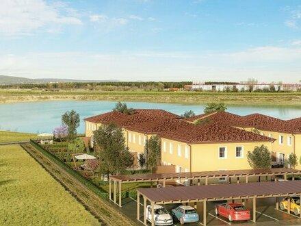 ACHTERSEE - Sonnige, exlusive & klimatisierte Doppelhäuser mit Toskana-Flair - HAUS 6 - MASSIVHAUS!