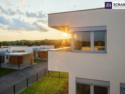 Provisionsfreier Erstbezug eines Terrassenhauses in ökologischer Bauweise!