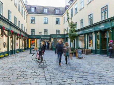 Geschäftsfläche im Raimundhof zu vermieten!