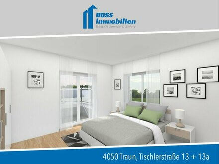 Baubeginn erfolgt   4 Zimmerwohnung für die ganze Familie mit Garten - Tischlerstraße 13, Traun