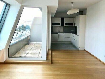 3 Zimmer im Dachgeschoss mit 2 Terrassen direkt beim Augarten!