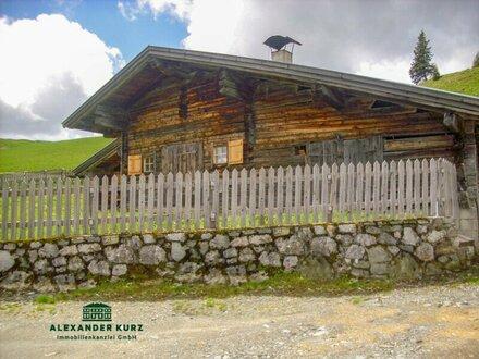 Alm-Skihütte in Tirol