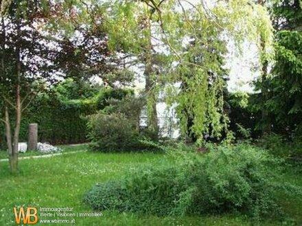 Tulbing: Baugrund EFH mit Bungalow & idyllischem Garten