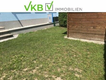 Kleine Anlegerwohnung mit Eigengarten und zugeordnetem Parkplatz, jetzt zu verkaufen.