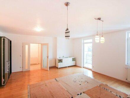 Stilvolle, sonnige 3-Zimmer-Balkonwohnung